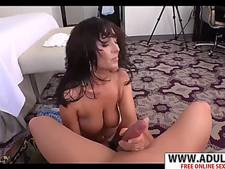 Recent fake mother amber copulates nice youthful stepson