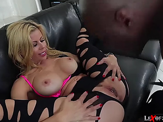 Breasty alexis acquires teamfucked by darksome boys wang