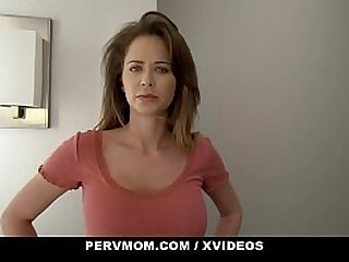 PervMom - Thick Curvy Stepmom Lets Her Stepson Cum In Her Mouth