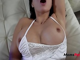 Fucking my SON with my wet pussy