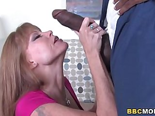 Busty Cougar Darla Crane Saves His Son And Fucks BBC