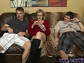 Big Dick Son bangs His Mom and Cums in her Mouth - Cory Chase